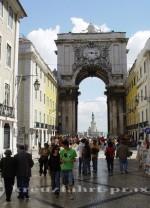 Lissabon - Triumphbogen