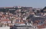 Lissabon - Blick vom Miradouro de São Pedro de Alcântara