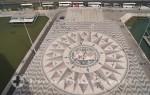 Lissabon - Windrose am Entdeckerdenkmal