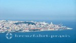 Lissabon - Blick von der Cristo Rei-Statue auf Lissabon