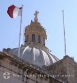 Malta - Kuppel der Karmeliterkirche
