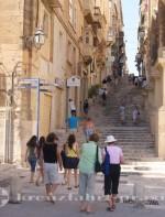 Malta - Hinab zur Waterfront