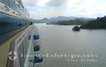 Panamakanal Passage - Kanalpassage vor dem Gatúnsee