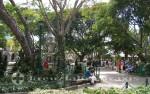 Puerto Quetzal - Parque Central mit der Fuente de las Sirenas