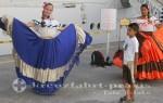 Puntarenas - Die Empfangsdamen warten