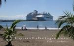 Puntarenas - Strand und Kreuzfahrtschiffe