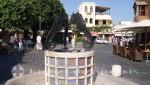 Rhodos Seepferdchenbrunnen