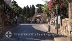 Rhodos Weg in die Altstadt