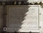 Rouen - Danksagung an Jeanne d'Arc