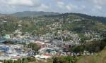St. Lucia - Blick über Castries