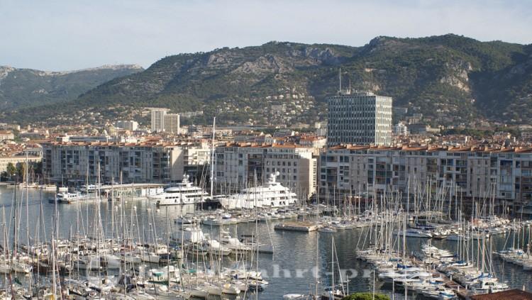 Toulon - Sportboothafen im Zentrum