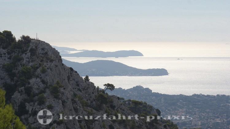 Toulon - Blick auf den Golfe du Lion