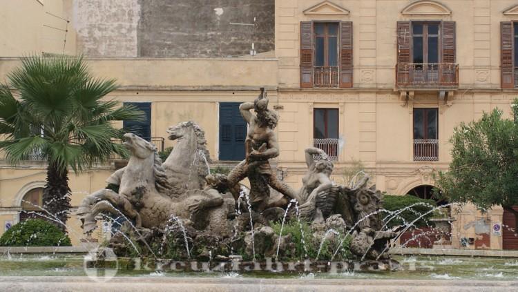Trapani - Tritonenbrunnen