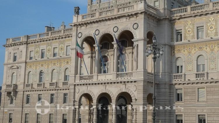 Triest - Palazzo del Governo - Fassade