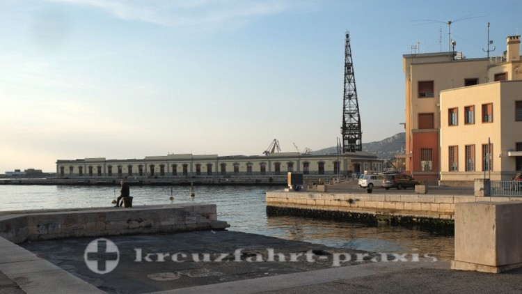 Triest - Der alte Hafen