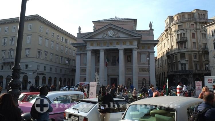 Triest - Palazzo della Borsa Vecchia