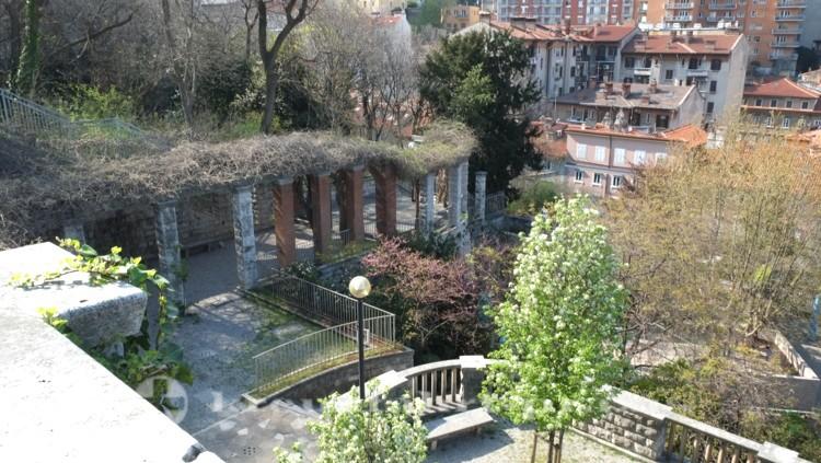 Triest - Der Giardino via San Michele