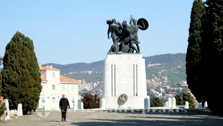 Triest - Den Opfern des Ersten Weltkriegs gewidmet