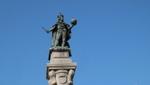 Triest - Piazza della Borsa - Statue Kaiser Leopold l.
