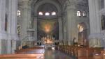 Triest - Kirchenschiff der Jesuitenkirche Santa Maria Maggiore