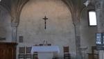Triest - Kirchenschiff der Basilika San Silvestro