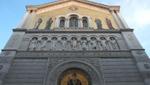 Triest - Fassade der Kirche San Spiridone