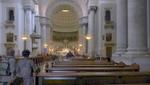 Triest - Kirchenschiff der Kirche San Spiridone