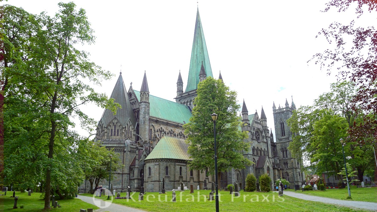 Trondheim - the Nidaros Cathedral