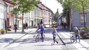 Trondheim - Øvre Bakklandet Street