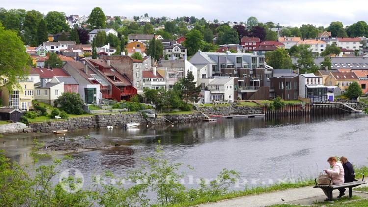 Der Nidelva-Fluss