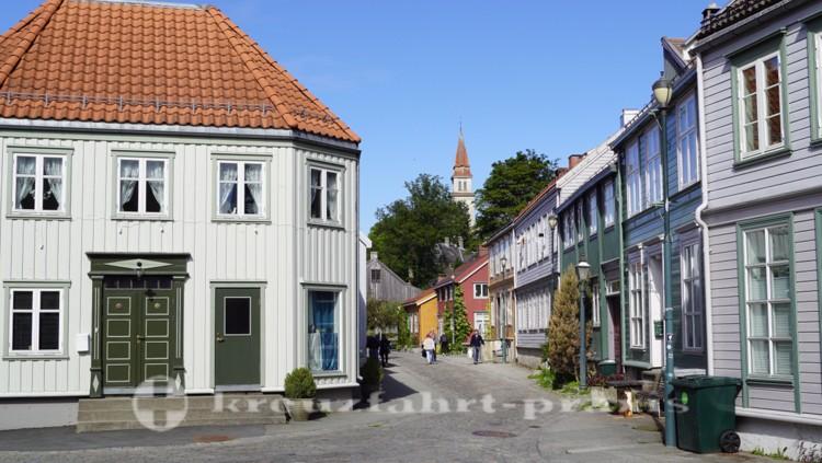 Nedre Bakklandet-Fußgängerzone