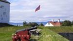 Wallanlage der Festung Kristiansten