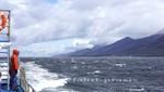 Mit dem Schiff im Beagle Kanal