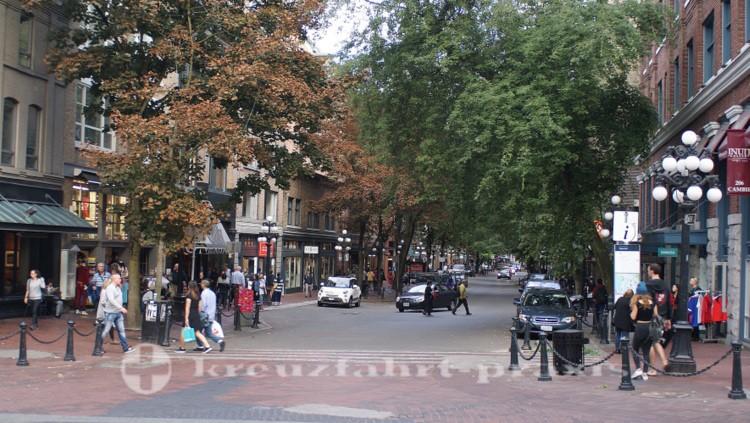 Water Street im Stadtteil Gastown