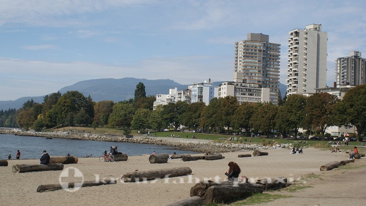 Strandabschnitt English Bay