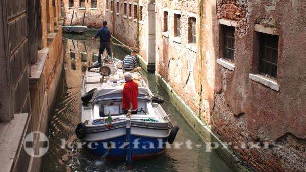 Venedig ist permanente Rekonstruktion