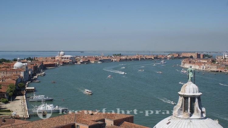 Venedig - Blick auf den Giudecca Kanal
