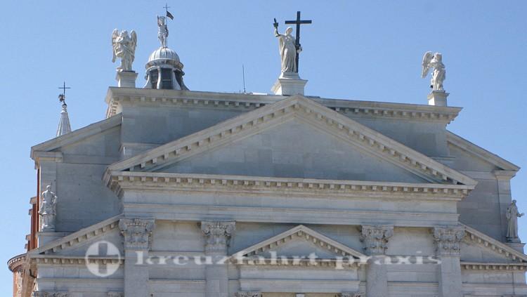 Venedig - Portal der Chiesa il Redentore