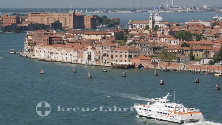 Venedig - Giudecca Kanal
