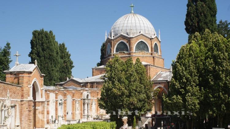 Venedig - Friedhofsinsel San Michele mit gleichnamiger Kirche