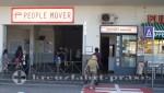 People Mover & Gepäckaufbewahrung