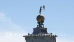Turmspitze der Punta della Dogana