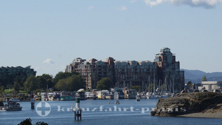 Blick auf Fisherman's Wharf