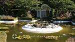 Butchart Gardens - Der Froschbrunnen