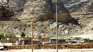 Ausgangspunkt der Jeep-Touren im Wadi Rum