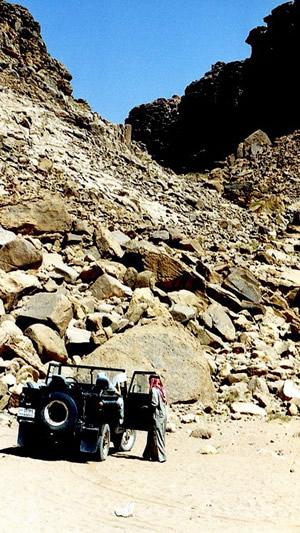Die Folgen von 30 Millionen Jahren Erosion