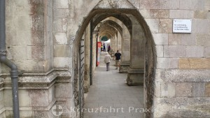 Winchester Cathedral - outer archway