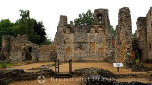 Winchester - ruins of Wolvesey Castle