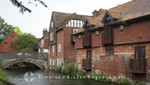 Winchester - City Mill mit dem Itchen River
