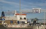 Hafen Zeebrügge - Fährschiff